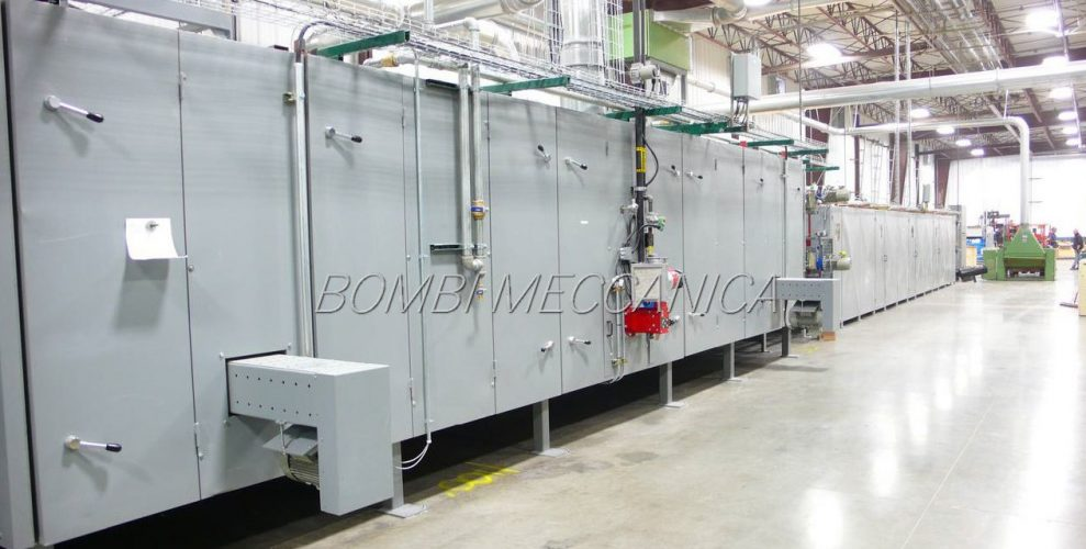OVEN AND CONTINOUS PRESS FOR RIGID BOARDS