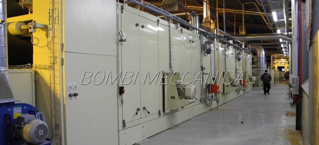 OVEN FOR WOOD FIBERS: 2.500kg/h