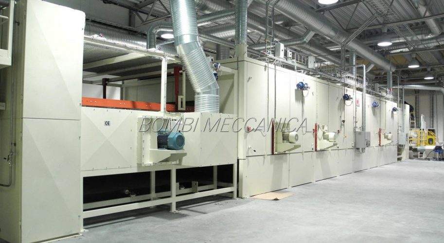 OVEN FOR CELLULOSE (NEWSPRINT) PADS - 2.000 KG/H