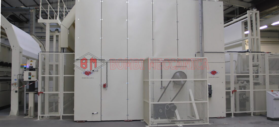 DRUM OVEN DIAM 3m, WIDTH 6m FOR HEAT SETTING