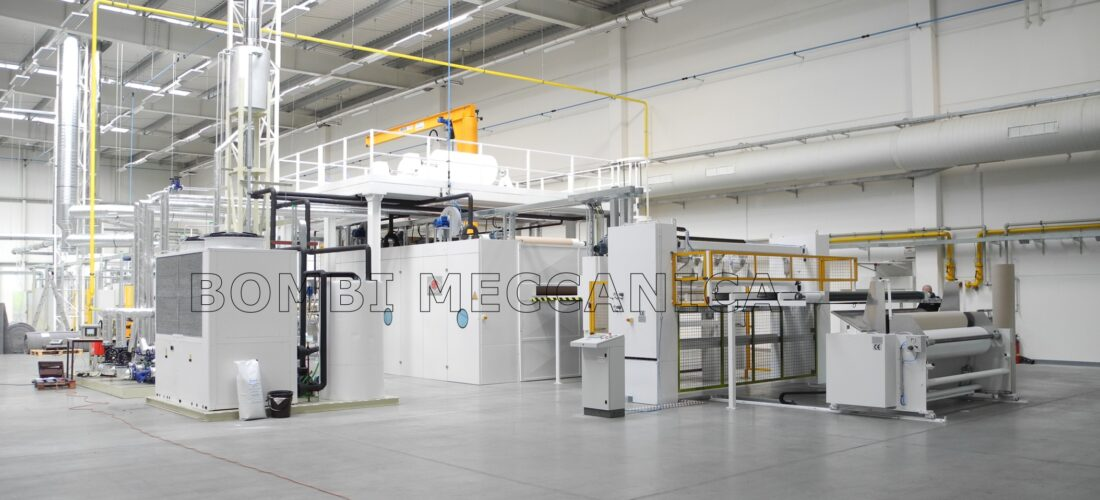 LAMINATION LINE WITH PRESS